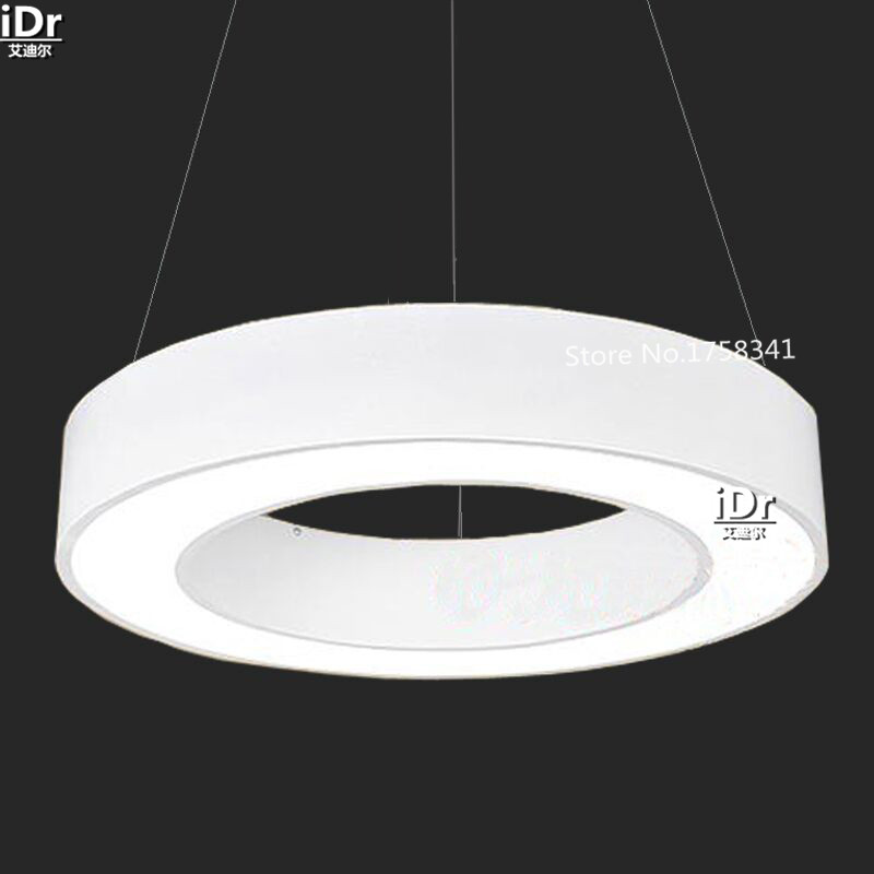 Chandeliers Ceiling Lights & Fans White Circle Ring Light Led High Quality Modern Minimalist Stylish Living Room Bedroom Restaurant Lights Chandeliers Dia800mm