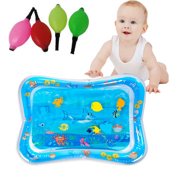 6 Styles 2019 Summer Creative Baby Crawling Water Mat Inflatable Play Pad Newborn Water Cushion Prostate Water Cushion Pat toy image