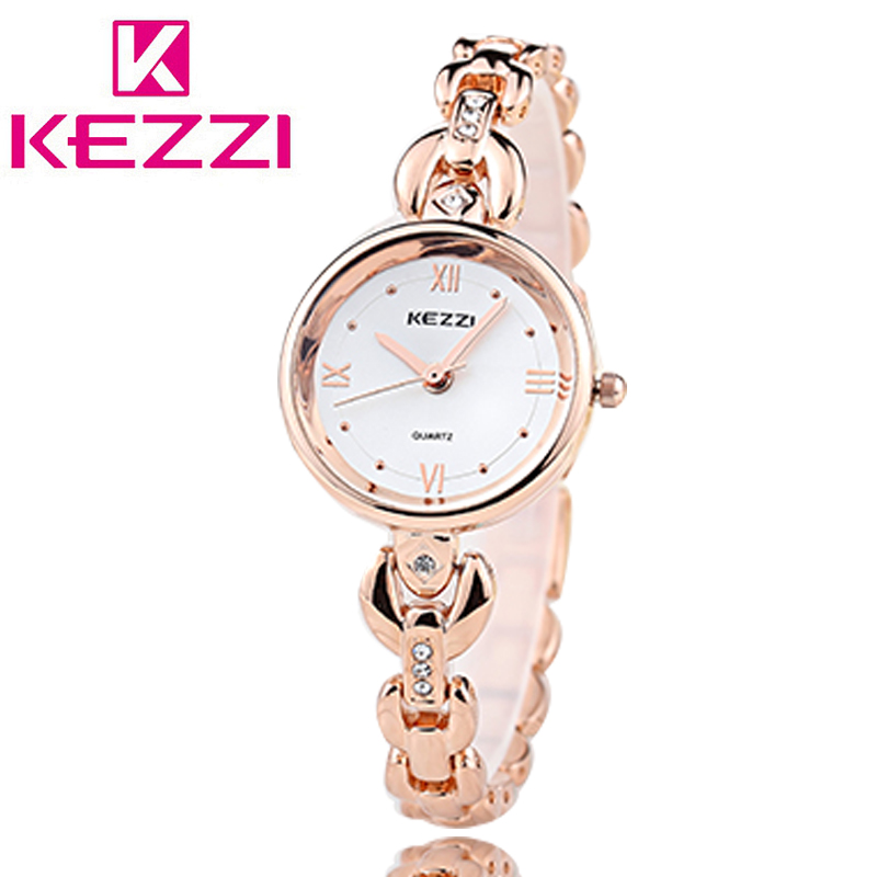 2017 NEW KEZZI Luxury Brand Women's Bracelet Watch Gold.Silver.Rose Gold Watch Fashion Bracelet Crystal Wristwatch Quartz Clock 2016 kezzi official authorize brand 2016 new fashion watch women gold luxury bracelet wristwatch ladies famous quartz watch kz80