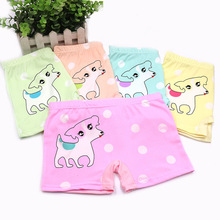 5PCS/Lot 6-13Years Children Cotton Soft girls Underwear Panties Puberty Girl Cute Cartoon Teenage Briefs Comfortable