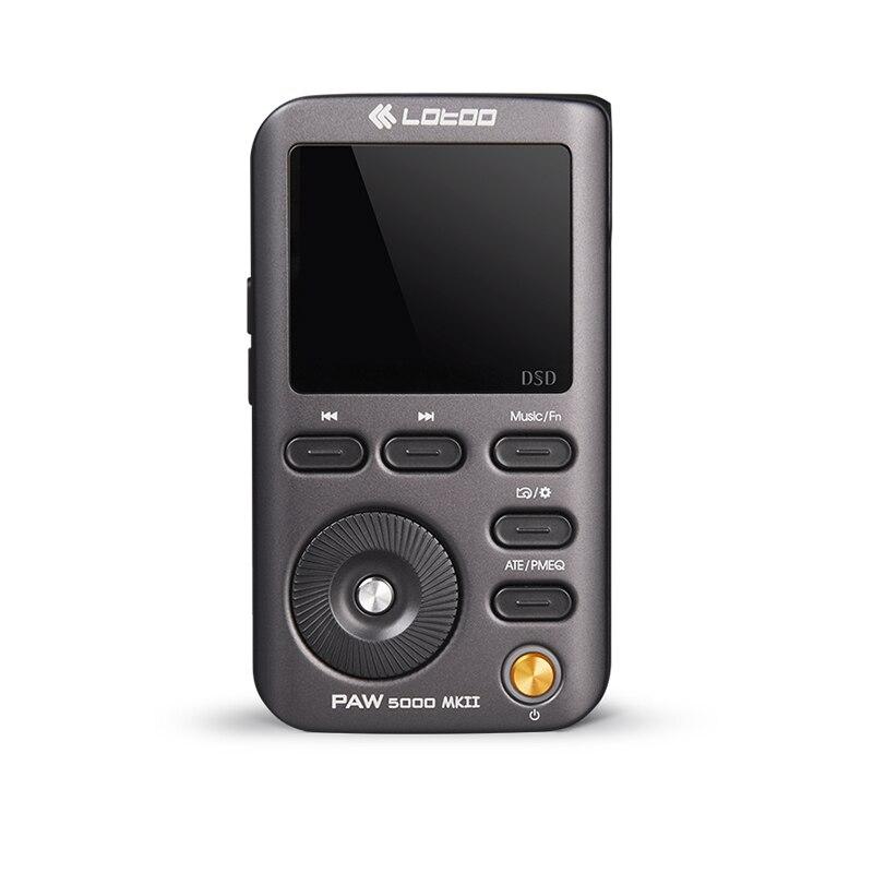 LOTOO PATTE 5000 MKII portable Salut-fi lecteur de musique AKM Prime série DAC puce AK4490 DSD64/DSD128/DSD25 32bit /384 khz USB3.0 JABEN