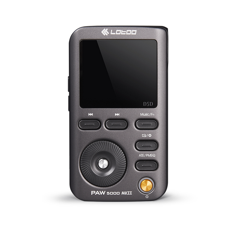 LOTOO PAW 5000 MKII Портативный Hi-Fi плеер AKM серии Premium чип ЦАП AK4490 DSD64/DSD128/DSD25 32bit/384 кГц USB3.0 JABEN
