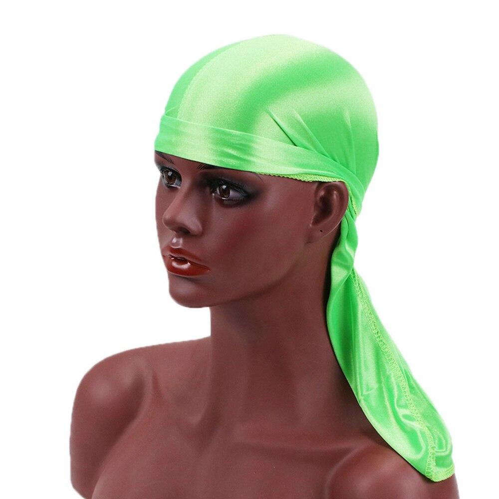 Unisex Durag Breathable Silk Men's Durags Fashion Wigs Satin   Headwear   Headband Pirate Hat