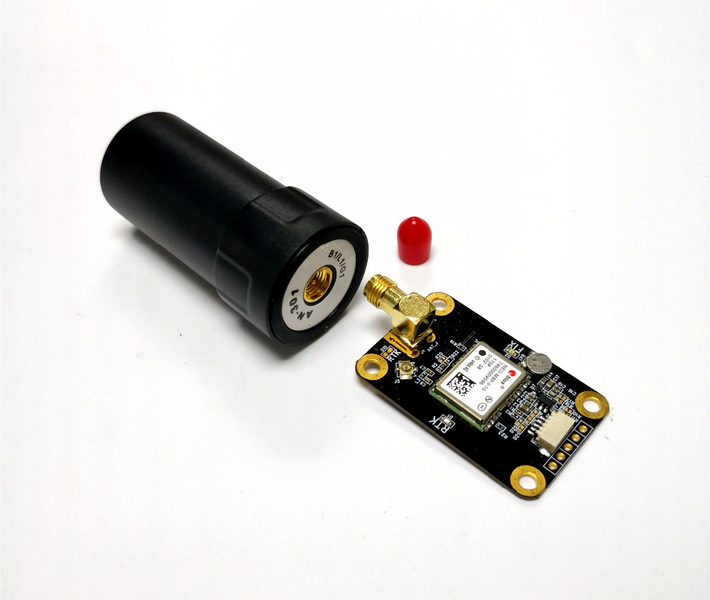 TTL RTK GNSS Module aéronef sans pilote (UAV) RTK ANTENNE NEO-M8P di Alta precisione GPS GLONASS RTK GNSS Modulo Antenne UART livello