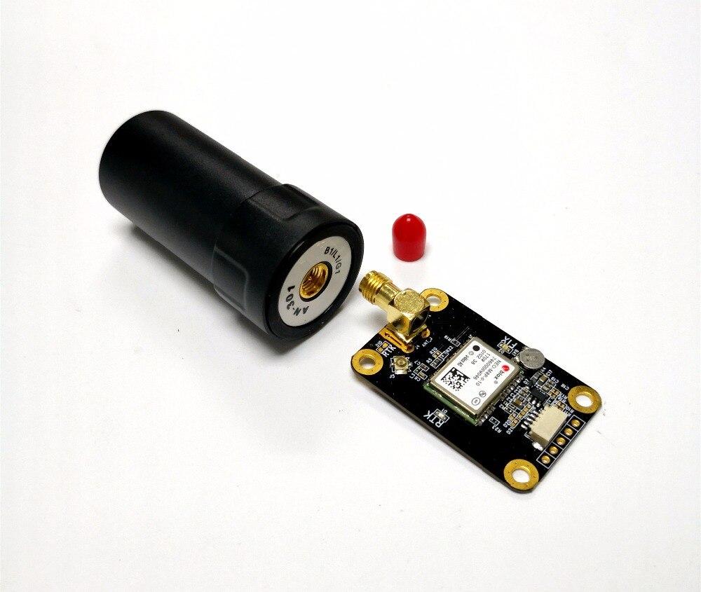 TTL RTK GNSS Module UAV RTK ANTENNE neo-m8p di Alta precisione GPS GLONASS RTK GNSS Modulo antenne UART livello