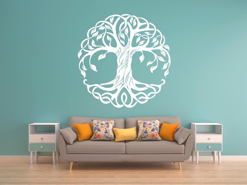 Árvore adesivo de parede removível árvore da