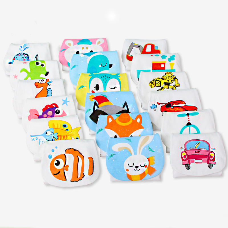 32X24cm Pure Cotton Baby Sweat Towel Baby Stuff For Newborns Security Blanket Infant Girl Boy Wash Cloth Gauze Wipe Sweat Back