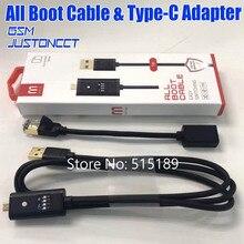 Все кабель для загрузки (легкое переключение) Micro USB RJ45 все в одном многофункциональный кабель для загрузки кабель edl