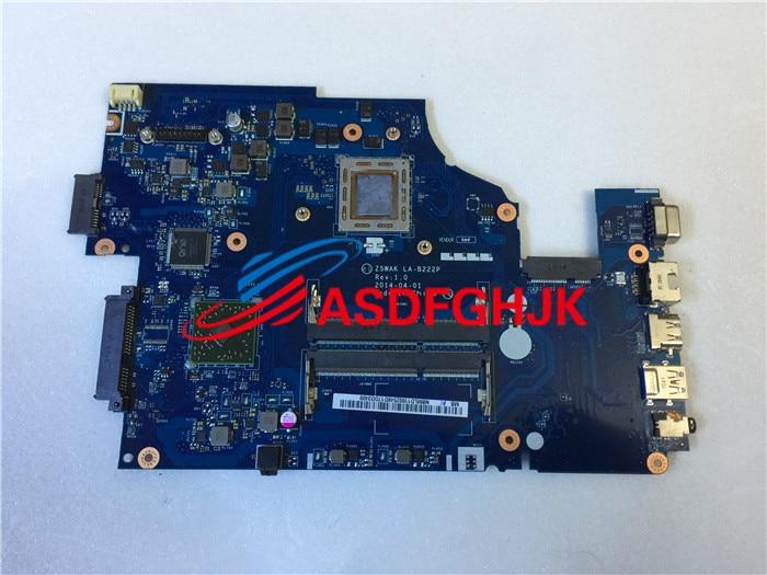 Original NBMLD11002 for font b Acer b font Aspire E15 E5 551 Motherboard System Board z5wak