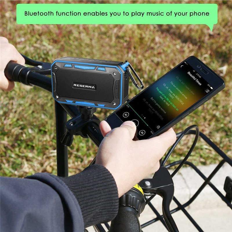 Reserwa Bluetooth Speaker Portable Wireless Speakers Radio Built-in Mic  Waterproof Shock Resistance Support AUX, Pc, Music, Mp3