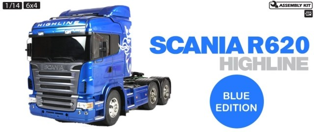 ᐊ1 14 tamiya scania r620 6 x 4 highline autocarro trattore - a858 64eba54fdc3e