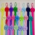 Kids Hair Bow Holder High Quality Grosgrain Ribbon  Hair Bows Holders Hair Accessories Free Shipping