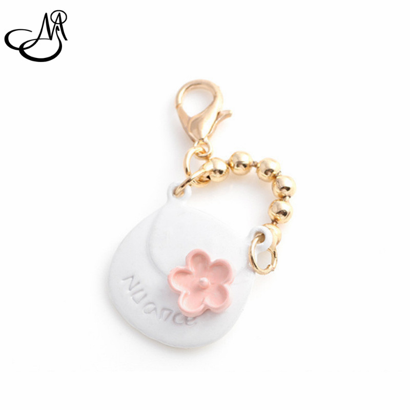 Gold plate handbag dangle charms lobster clasp charms for glass momery floating pendant lockets 20pcs/lot FA666