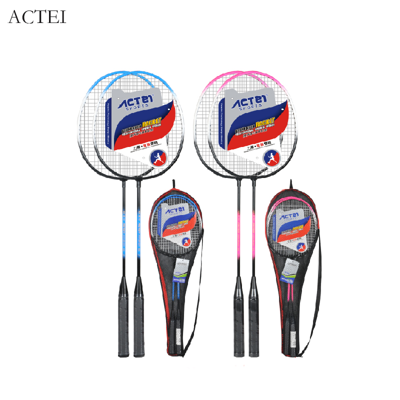 ACTEI BR2210 Iron Alloy Split Body Defensive Badminton 20-23lbs Amateur Junior Badminton Racket