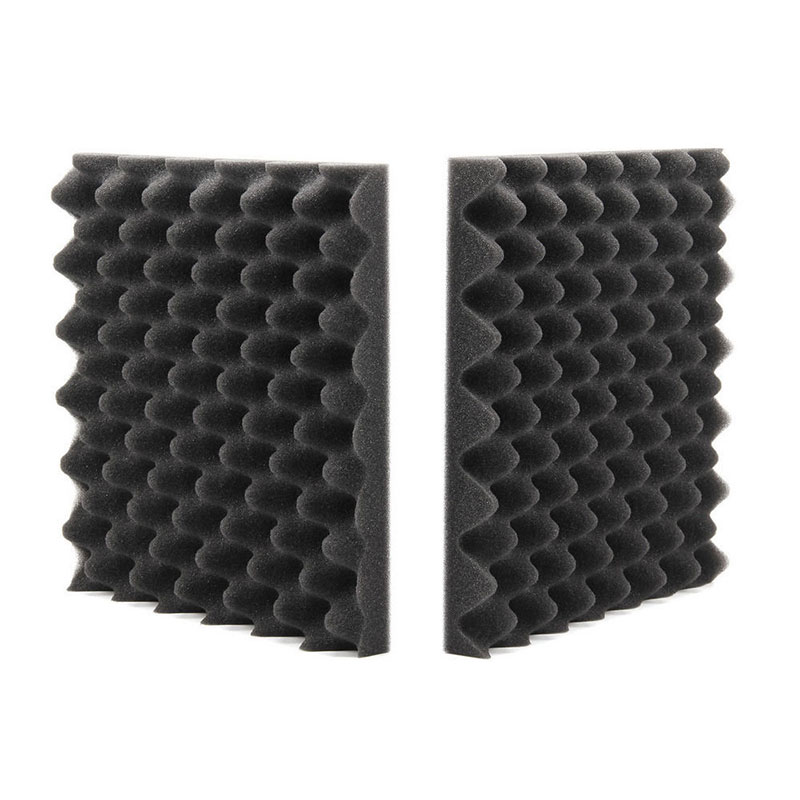 EE Support 10Pcs 2cm*50cm*50cm Car KTV Soundproofing Sound Absorption Acoustic Foam Egg Crate Studio Deadening Insulation Hot