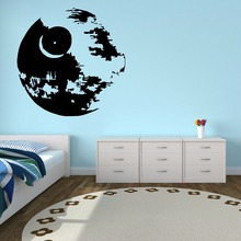 Star Wars Vinyl Wall Sticker Kids Boys Room Poster Art Mural Home Decoration Removable Death Decal AY656