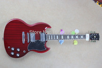 Free shipping Sg electric guitar red pickup electric guitar 150621