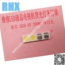 120 sztuk/partia do naprawy Philips SONY Toshiba LCD TV LED podświetlenie SMD LEDs Seoul 3535 6V zimna biała dioda elektroluminescencyjna