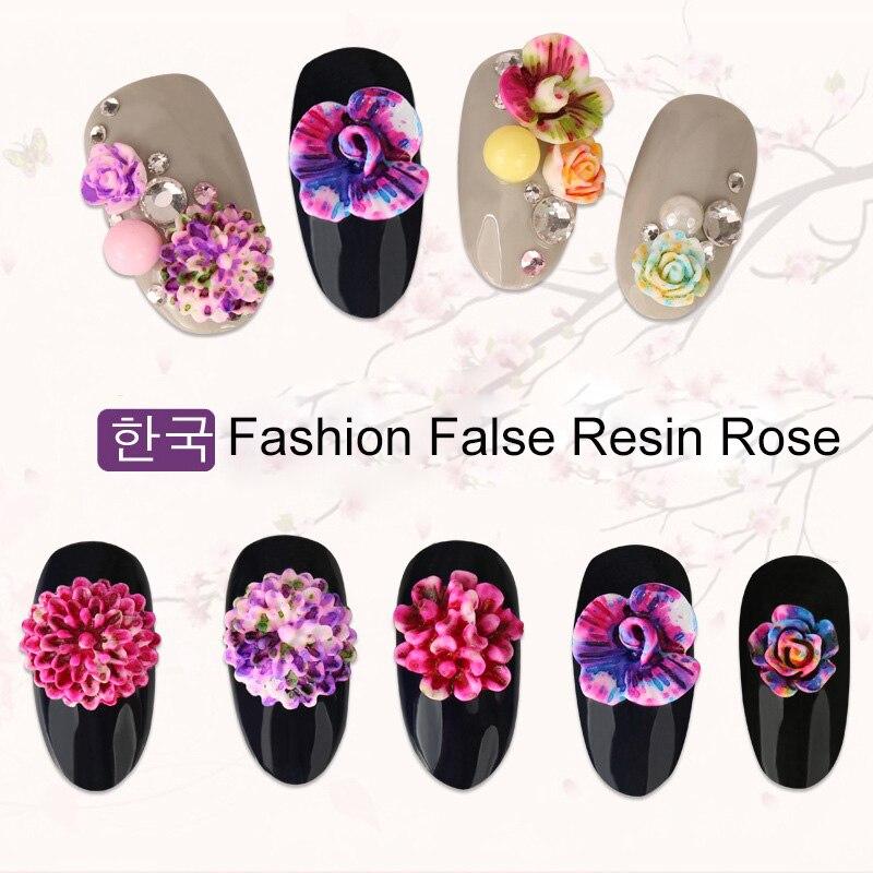 latest Japanese wheel nail art newest 3D Korea Trending Style Resin ...