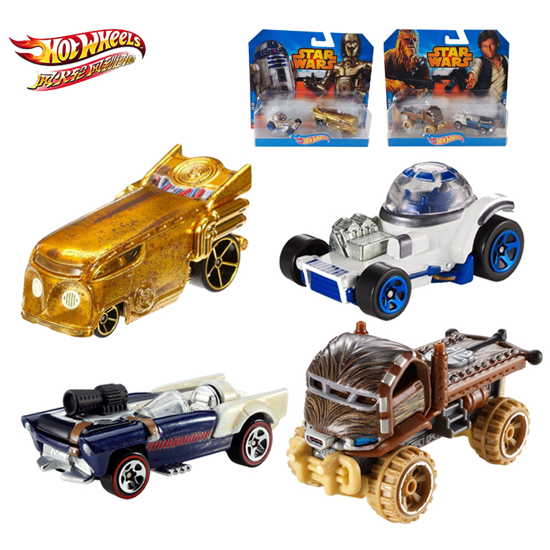 Hot Wheels 1:64 Sports Car Star Wars Collective Edition Metal Material Race Car Collection Alloy Car Gift For Kid