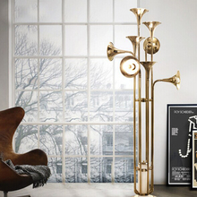 IndividualThe Nordic industrial post modern art creative personality exhibition designer sitting room floor lamp hotel cafe