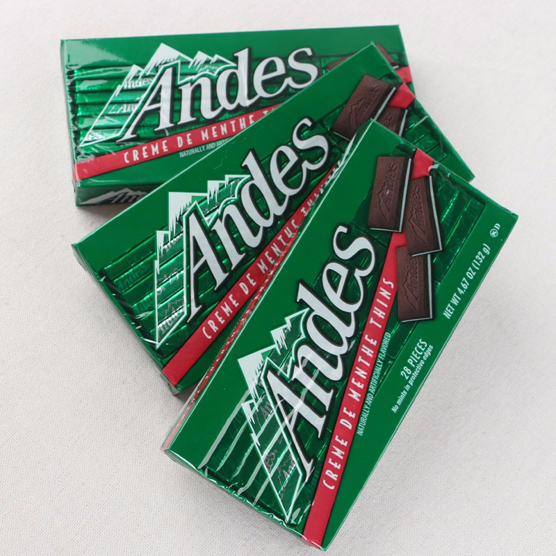1pcs Weight 132g/bag. United States imported Andes kit kat Mint ...