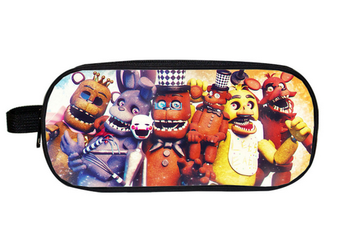 Five Nights At Freddy Cartoon Etui Schooltas Jongens Meisjes - Portemonnees en portefeuilles