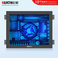 Outdoor highlight / panel waterproof IP65/19/15/17 inch capacitive touch screen monitor USB / multi touch industrial controller