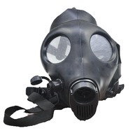 Head Wearing Type Protective Mask Hookah Shisha Water Pipe For Tobacco Cigarette Smoking Black Or Colorful