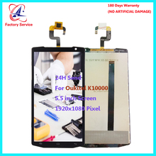 For Original Oukitel K10000 LCD Screen Display+Touch Screen Digitizer Sensor Assembly Replacement 5.5 1920x1080 Pixel in stock