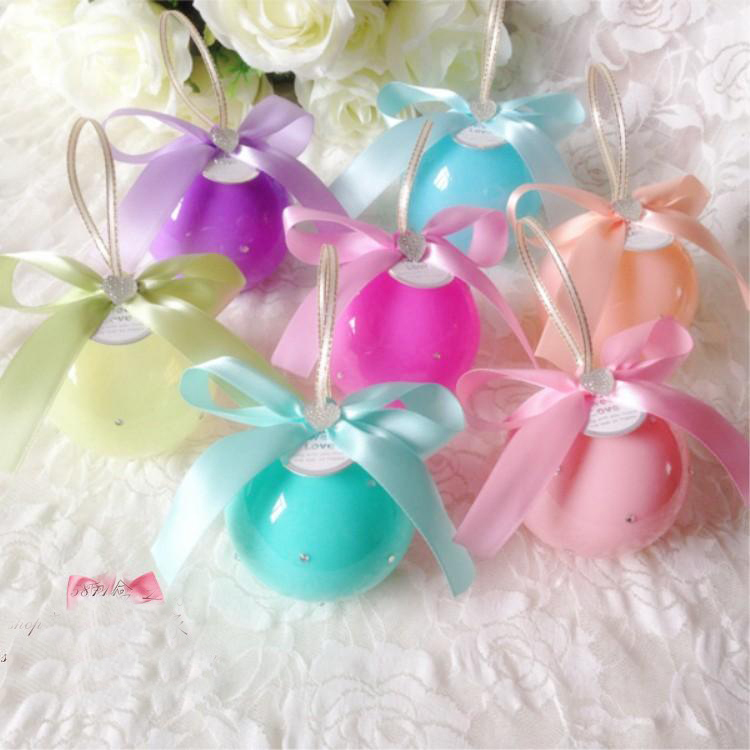 Online buy wholesale pink baubles from china pink baubles - Bolas transparentes para decorar ...