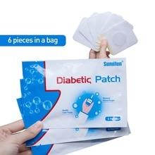 30 Pcs/5 Bag Diabetic Patch Stabilizes Blood Sugar Balance Blood Glucose Patch Natural Herbs Content Diabetes Plaster Patch