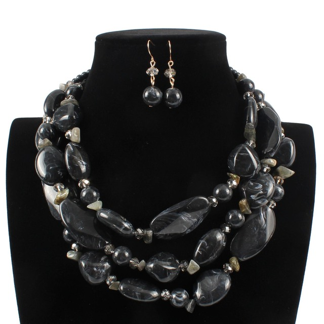 Strand Beads Clavicle Resin...