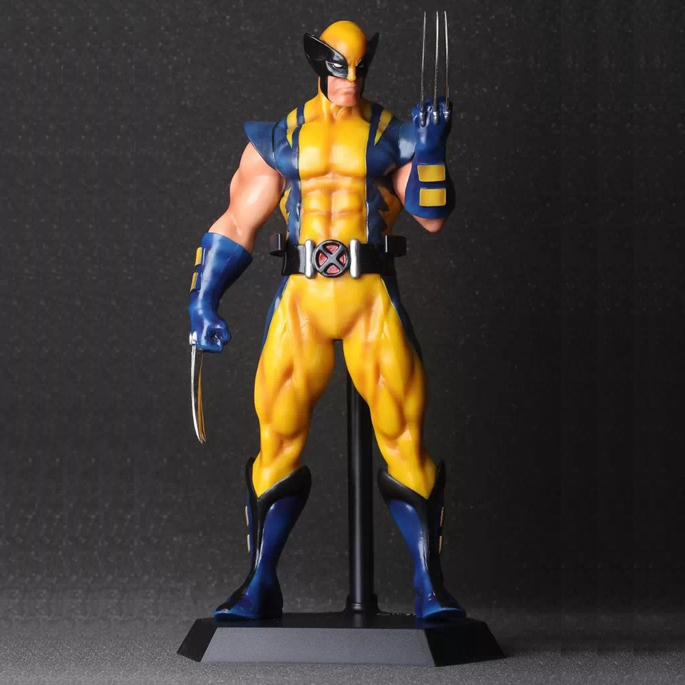 ФОТО Marvel X-men Wolverine 12'' PVC Action Figure Collection Model Doll Toy Gift