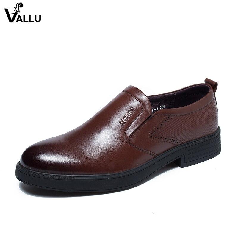 Slip On Loafers Shoes For Men Fashion Fretwork Male Business Shoes Handmade Natural Leather Soft Gentlemen Heeled Dress Shoes italians gentlemen пиджак