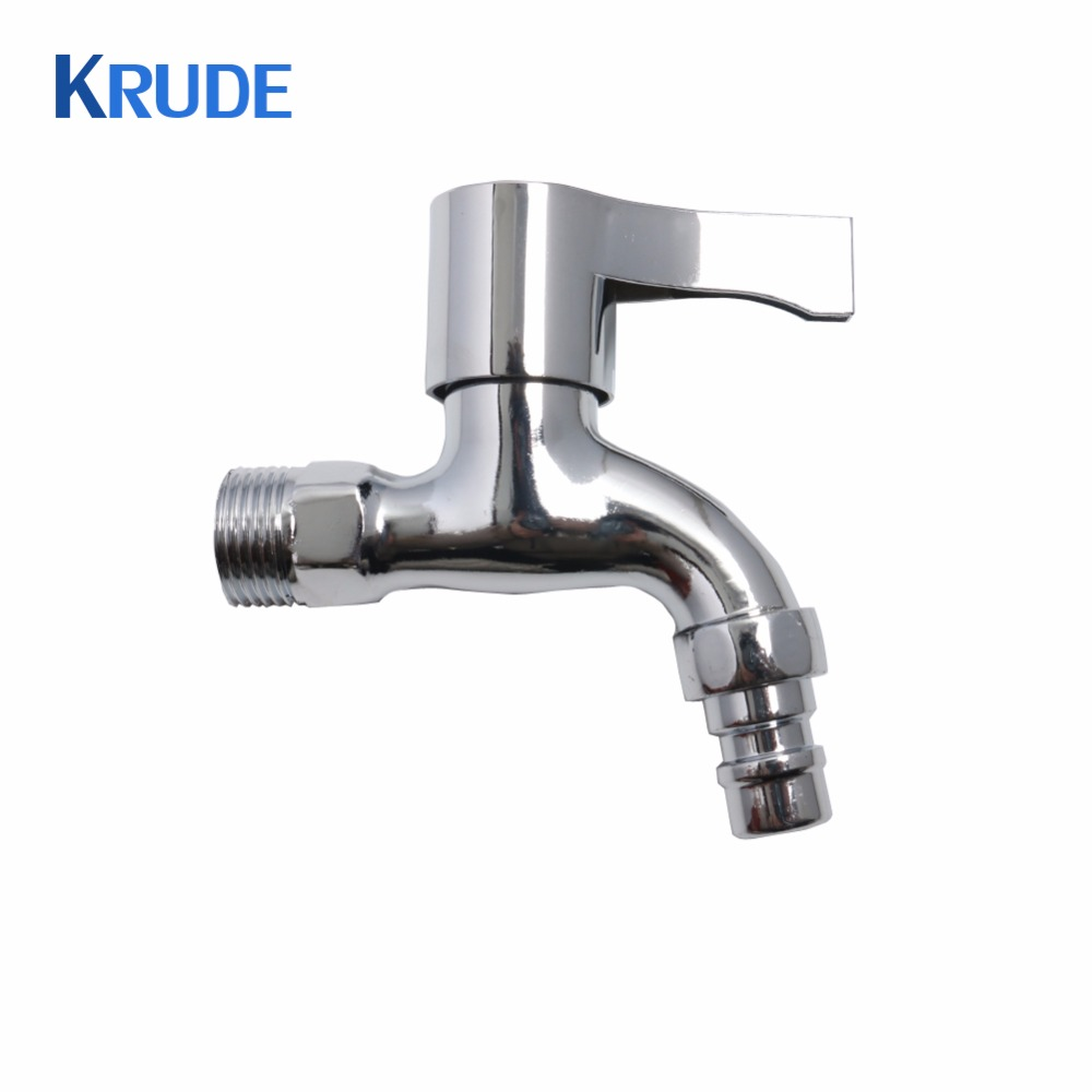 Single Handle Wall Mounted Water Switch Cold Water Washing Machine Faucet Garden Kitchen Sink Faucet Chrome Washing Machine Taps
