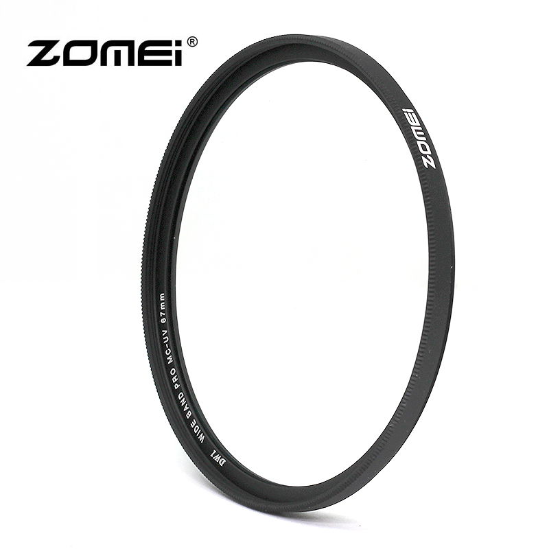 ZOMEI 67mm Slim MCUV Multi-Coating UV Filter for Canon 18-135mm 77D 80D 750D 760D T6i T6s, Nikon 18-105mm, Sigma 35mm f/1.4 image