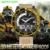 2016 new sanda relógios moda masculina esporte militar relógios de pulso dos homens de luxo da marca à prova d' água 30 m analógico digital led relógio de quartzo