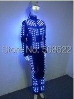 Светодио дный костюм одежда Вечерние Праздничная светодио дный Вечеринка принадлежности светодиодная сценисветодио дный одежда светодио