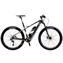 SAVA Electric Bicycle Carbon Fiber e-bike 27.5 inch Mountain MTB Bike Pedelec w/Shimano 10 Speed 36V/14Ah SAMSUNG Li-ion Battery