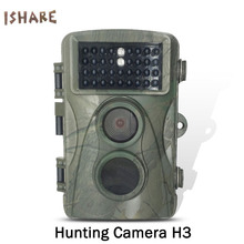 Big sale ISHARE H3 34 infrared night vision lights 60 degrees shooting angle speed 0.2 seconds digital point shoot cameras for hunting