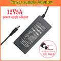 1pcs 12V5A AC 100V-240V Converter Adapter DC 12V 5A 60W Power Supply DC 5.5mm x 2.5mm for 5050/3528 LED Light LCD Monitor