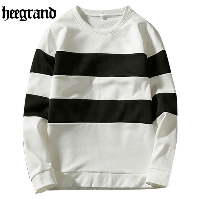 HEE GRAND New 2017 Mens Long Sleeve Hoodies Mens Hip Hop Hoodies to Street Wear Style Casual Sweatshirt MWW1099