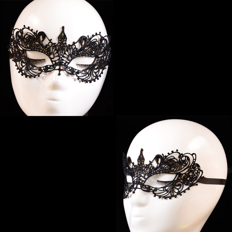 630f3873ea1e9 HAICAR tatoo tatuagem fake tattoo Christmas & Halloween Lady Black Lace  Floral Eye Mask Venetian Masquerade Fancy Party Dress-in Temporary Tattoos  from ...