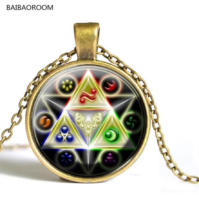 The Legend of Zelda Time Gem necklace