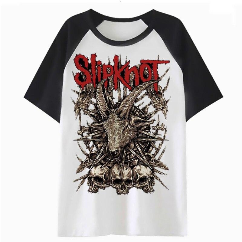Slipknot t shirt tee t-shirt male funny hop tshirt top men harajuku clothing for streetwear hip F2908