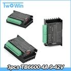 3Pcs TB6600 4A 9-42V...