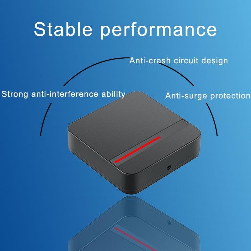 RFID считыватель Long Range 125 кГц/13,56 МГц доступа Управление считыватель карты Wiegand 26/34 IP68 Водонепроницаемый Малый чтения карт IC