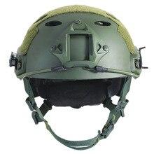 Быстро PJ тактический Airsoftsports шлем пейнтбольного снаряжения охотничьи принадлежности мотошлемы каска военная  шлем тактический
