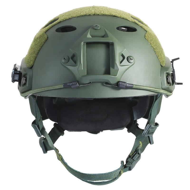 Prix pour Rapide PJ Tactique Airsoftsports Casque Équipement de Paintball Chasse Accessoires